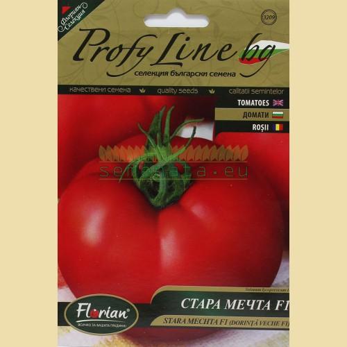 Специална селекция семена на български червени домати - Стара мечта F1