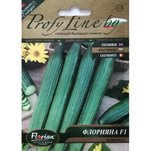 Семена на краставица Флорияна F1 за целогодишно отглеждане в оранжерии