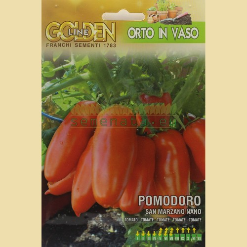 Семена на домати Сан Марцано - нисъс /San Marzano Nano/