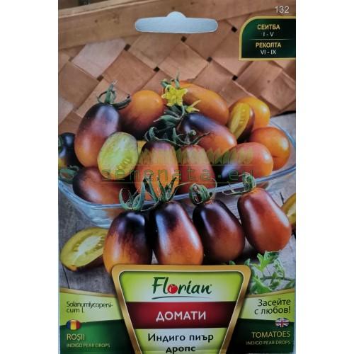 Семена на домати Чери Индиго пиър дропс