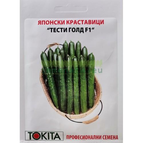 Семена краставици Тести Голд F1
