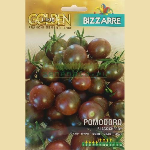 Семена на нискостеблени домати Черно чери - Black Cherry